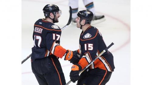 Ducks centers Ryan Getzlaf, Ryan Kesler could be in lineup together soon