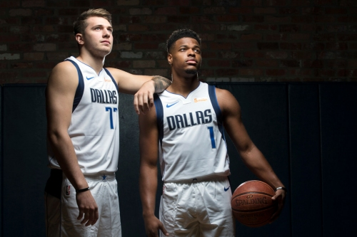 How will Mavs' trio of Luka Doncic, Dennis Smith Jr. and Harrison Barnes compare to the best in team history?