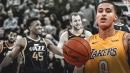 Lakers forward Kyle Kuzma says he likes to watch Donovan Mitchell on League Pass