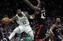 Kyrie Irving has season-high 43 points, Celtics beat Raptors