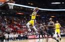 LeBron James scores 51 points, Lakers beat Heat