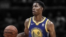 Patrick McCaw spotted working out in a St. Louis high school during Warriors ring night