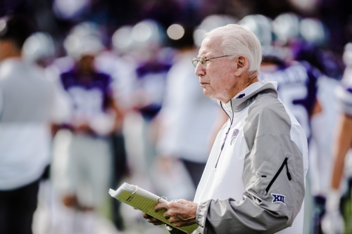 Snyder, players prep for test at Oklahoma over a bye week
