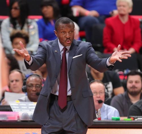 Detroit Pistons coach Dwane Casey's system offers 'no boundaries'