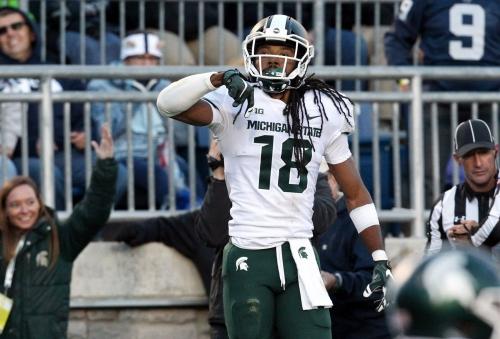 Michigan State's Felton Davis III presents test for Michigan football