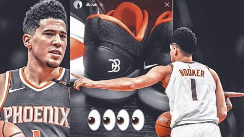 Devin Booker hints at new signature shoe on Instagram