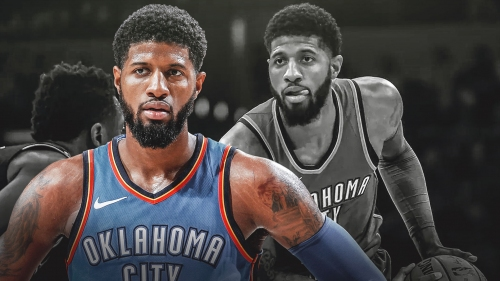 Paul George laser-focused on goal ahead since re-signing with OKC