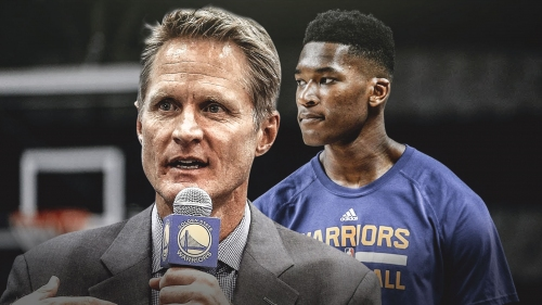 Steve Kerr rolling with Damian Jones again on Friday vs. Jazz