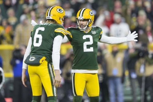 Mason Crosby named NFC Special Teams player of the week for rebound game
