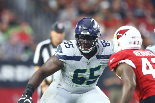 Is the Seahawks offensive line now the best pass blocking unit in the NFL?