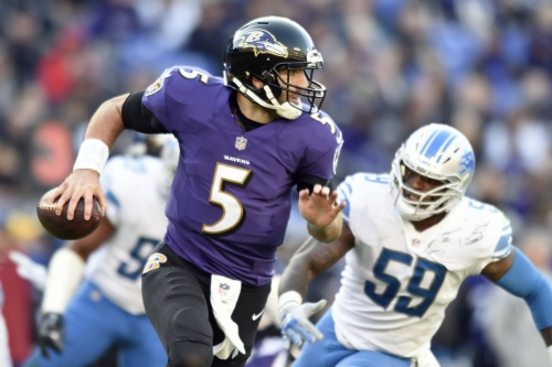 Saints see Baltimore QB Joe Flacco as one of the NFL's 'upper echelon players'