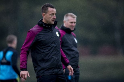 'Ridiculous while John Terry is sat in the dugout' - Aston Villa fans react to transfer update