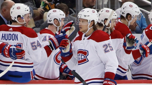 Red Wings claim forward Jacob De La Rose off waivers from Canadiens