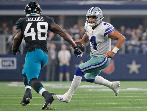 Is Dak Prescott running pertinent to the success of the Cowboys' offense?