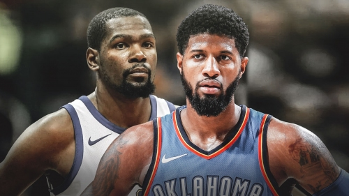 Paul George sympathizes with Kevin Durant facing media circus before free agency