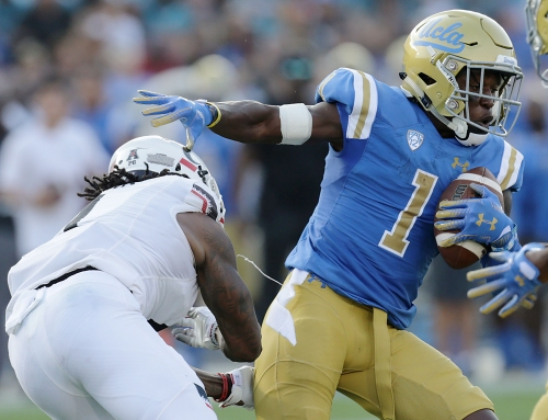 Video: Darnay Holmes talks about UCLA's 'so what, now what' mentality