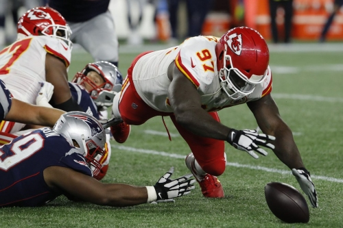 The Chiefs are tackling poorly at every level of the defense
