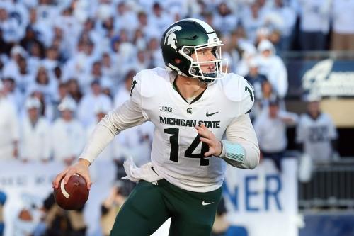 Michigan State's Brian Lewerke now fully aware of Michigan rivalry