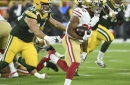 Matt Breida knew the Tuesday before that he would play in Green Bay
