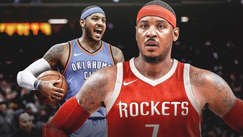 Carmelo Anthony looks back on 'challenging' season with OKC