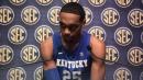 UK basketball's sophomore forward PJ Washington at SEC media day