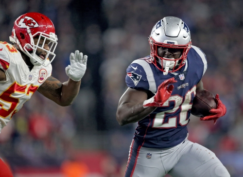 Fantasy football start/sit tips for Week 7: Patriots' Sony Michel a smart play against Bears