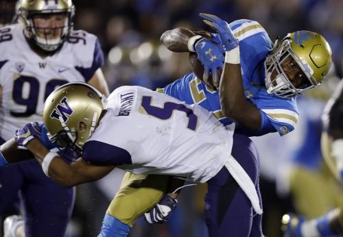 UCLA RB Joshua Kelley leads via work ethic, positivity