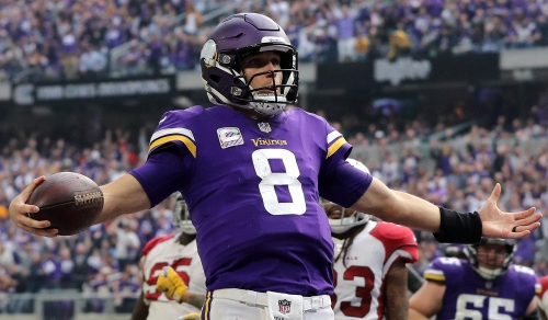 Vikings quarterback Kirk Cousins ready to face the team he turned down