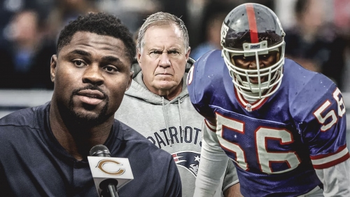Bill Belichick not putting Khalil Mack in Lawrence Taylor's class