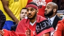 Rockets' Carmelo Anthony will officially come off bench for first time in career