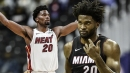 Justise Winslow's hamstring injury isn't a long-term concern for Heat