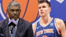 Knicks' Steve Mills says Kristaps Porzingis not unhappy about not signing a contract extension