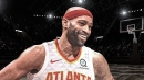 Hawks' Vince Carter becomes second-oldest player to start an opener