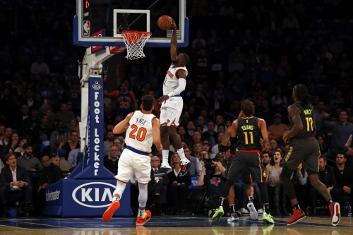 Knicks 126, Hawks 107: Scenes from DAMN THAT WAS AWESOME
