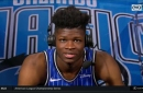 Mo Bamba on NBA debut: 'I'm telling you, I really wasn't nervous'