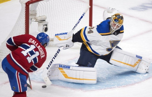 Gloom surrounding Blues deepens with loss to Montreal