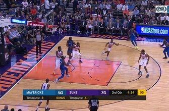 HIGHLIGHTS: DSJ hits a Step-Back Three | Dallas Mavericks at Phoenix Suns