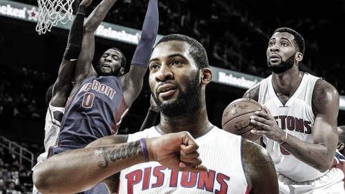 Pistons center Andre Drummond's 20-20 opener hits historic marks