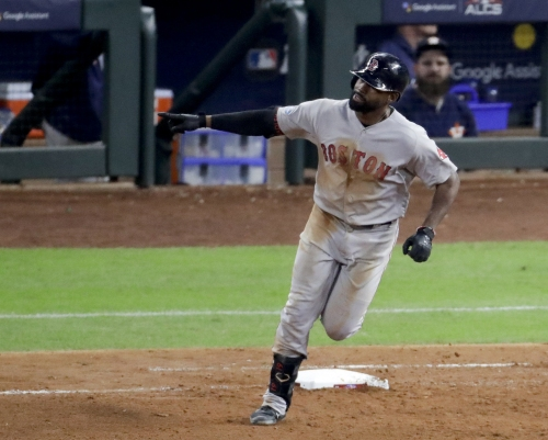 Jackie Bradley Jr. delivers another big homer as Boston Red Sox move within one game of World Series with dramatic Game 4 win