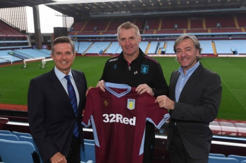 Aston Villa's new sporting director explains his links with Jorge Mendes