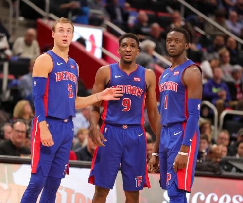 Detroit Pistons' new-look 3-guard lineup helps put away Nets in opener