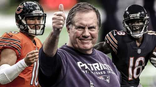 Bears news: Bill Belichick compliments Mitchell Trubisky and Taylor Gabriel