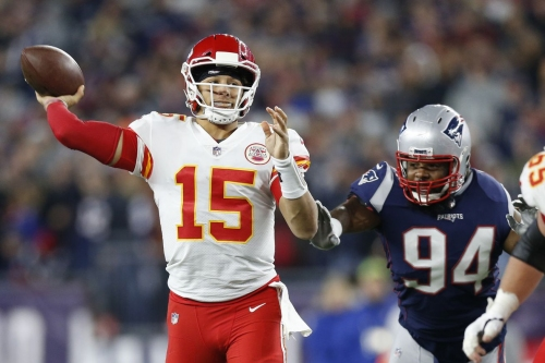 Patrick Mahomes responded to adversity like a franchise QB against New England