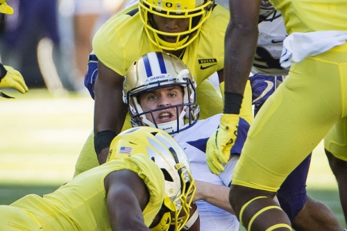"""Players have """"bought in"""" to Cristobal's style; Washington has a new """"the"""" moment at Autzen."""