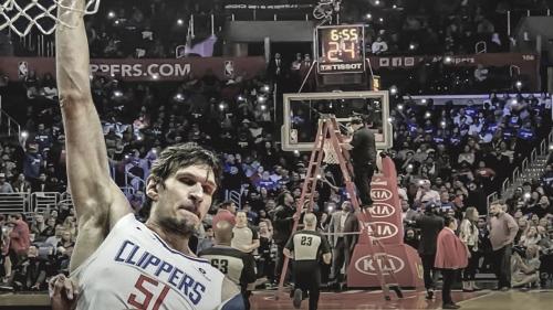 Staples Center hoop needed re-aligning after Boban Marjanovic's dunks