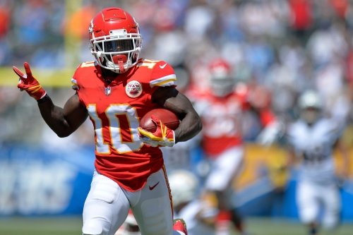 NFL Network's 'Good Morning Football' debates A.J. Green vs. Tyreek Hill