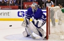 Leafs goalie Andersen back in net for showdown with Crosby's Penguins