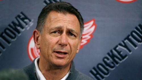 Red Wings GM Ken Holland on Steve Yzerman: 'I don't look over my shoulder'