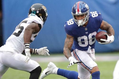 Giants' injury report, 10/18: Evan Engram, Rhett Ellison full practice participants