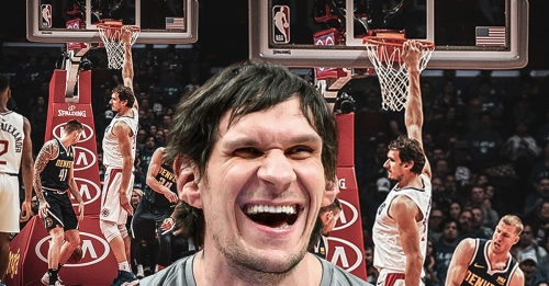 Clippers' Boban Marjanovic says he's in weight room too much after breaking rim